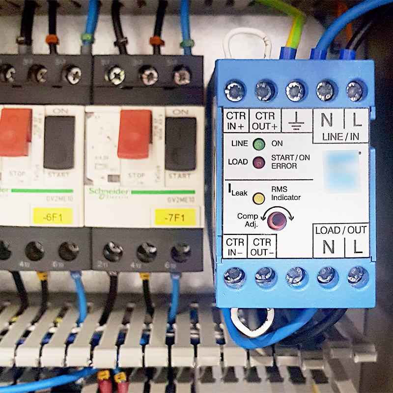 Nachrüstung der Elektrik mit einer neuen Ableitstromkompensation